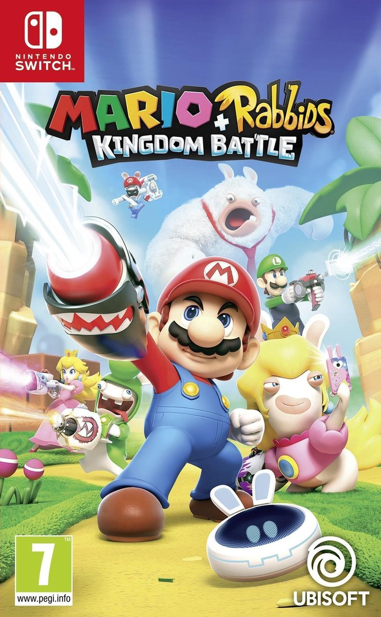 Mario + Rabbids Kingdom Battle – Switch