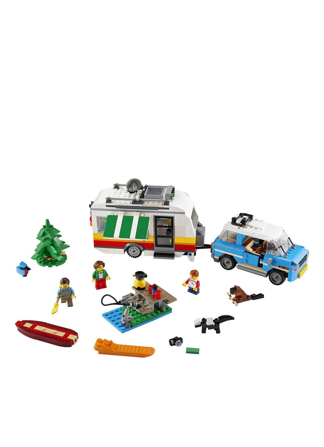 LEGO Familievakantie met caravan – 31108