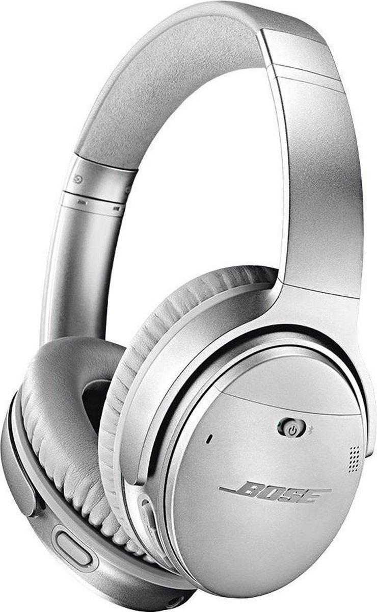 Bose QuietComfort 35 serie II – Draadloze over-ear koptelefoon met Noise Cancelling – Zilver