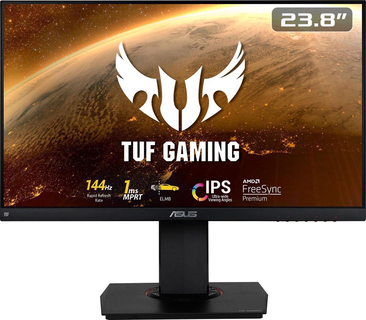 ASUS TUF VG249Q – Full HD IPS Gaming Monitor – 144hz – 24 inch