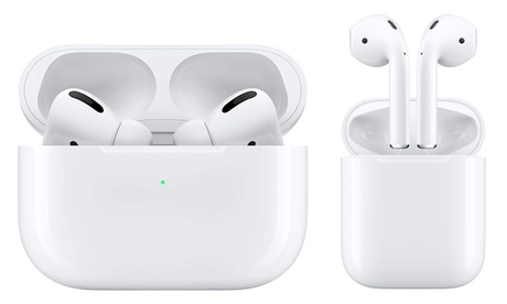Apple AirPods 2 of AirPods Pro met oplaadcase, inclusief levering