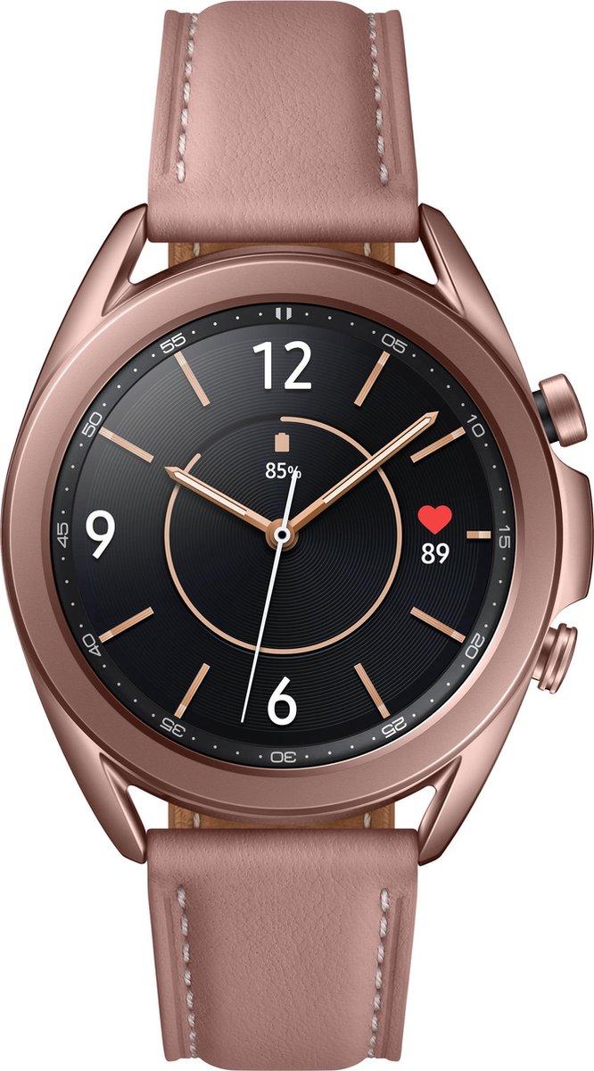 Samsung Galaxy Watch3 – Smartwatch – Stainless Steel – 41mm – Brons