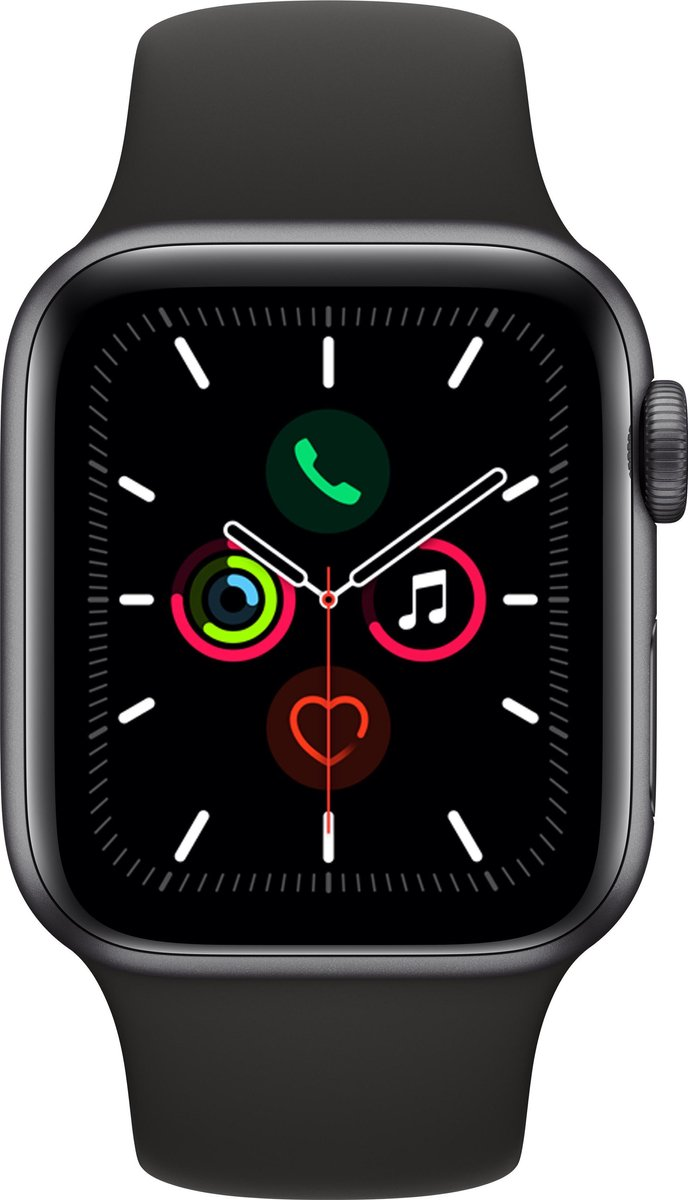 Apple Watch Series 5 – 40 mm – Spacegrijs