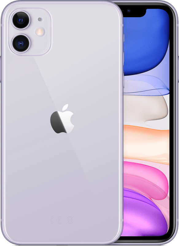 iPhone 11 128 GB Paars – Smartphone – 128 GB – GSM 6.1″ – 1792 x 828 pixels – iOS 13 – 12 MP