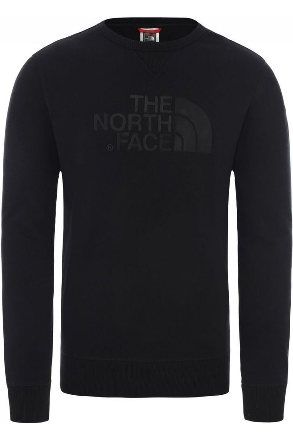 The North Face Trui Drew Peak Crew Light voor heren – Zwart – Maat: M