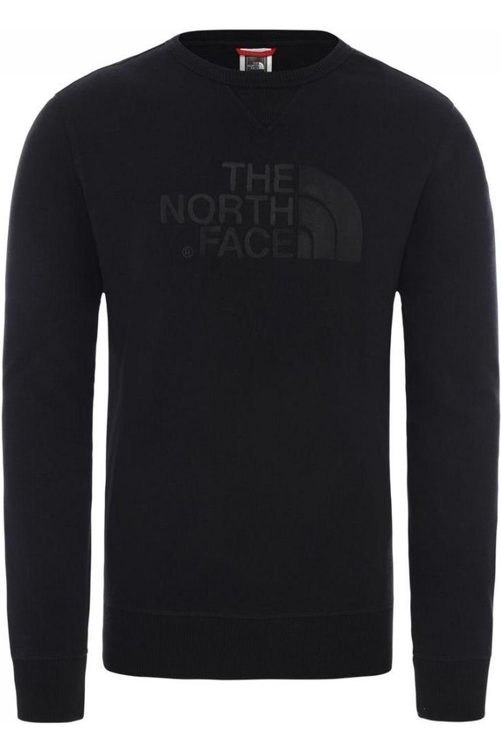 The North Face Trui Drew Peak Crew Light voor heren – Zwart – Maat: M