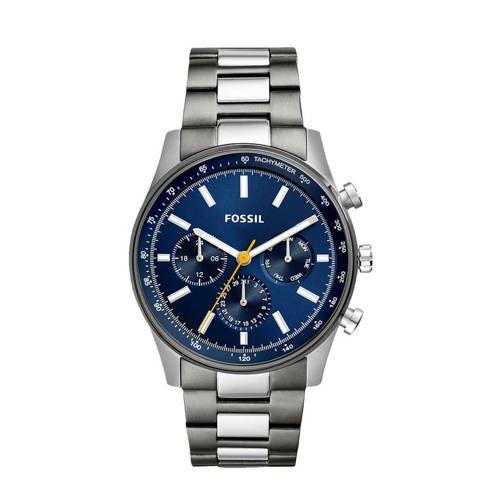 Fossil horloge BQ2458 Sullivan Zilver