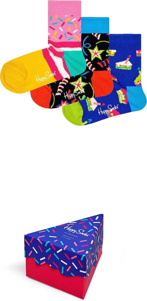 Happy Socks Kids Happy Birthday singing Giftbox – Maat 2-3Y